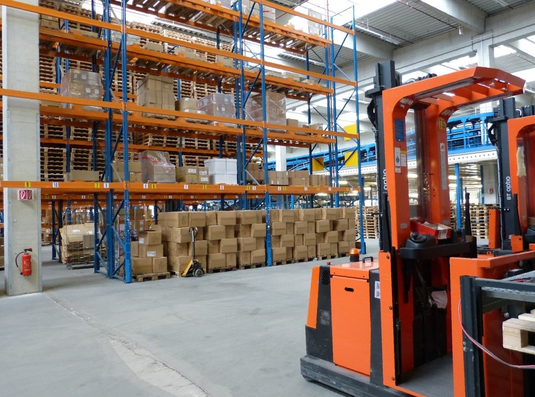 A Look At The Structure Of A Pallet Racking System Versari